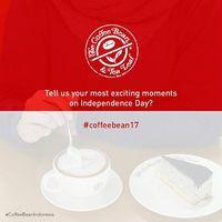 Promo 17 Agustus di Coffee Bean Indonesia.