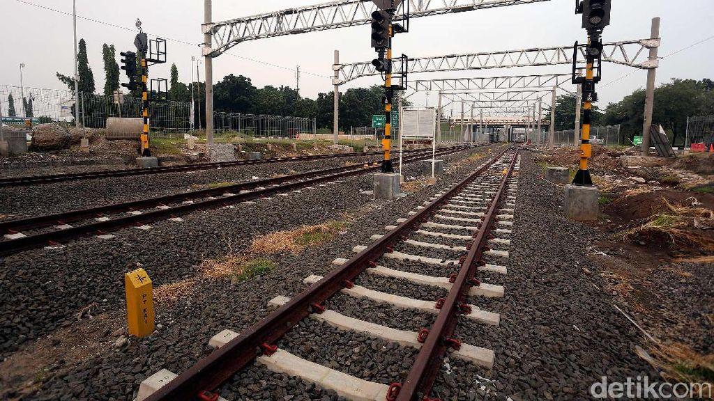 Langkah Jokowi Bangun Double Track Bogor-Sukabumi
