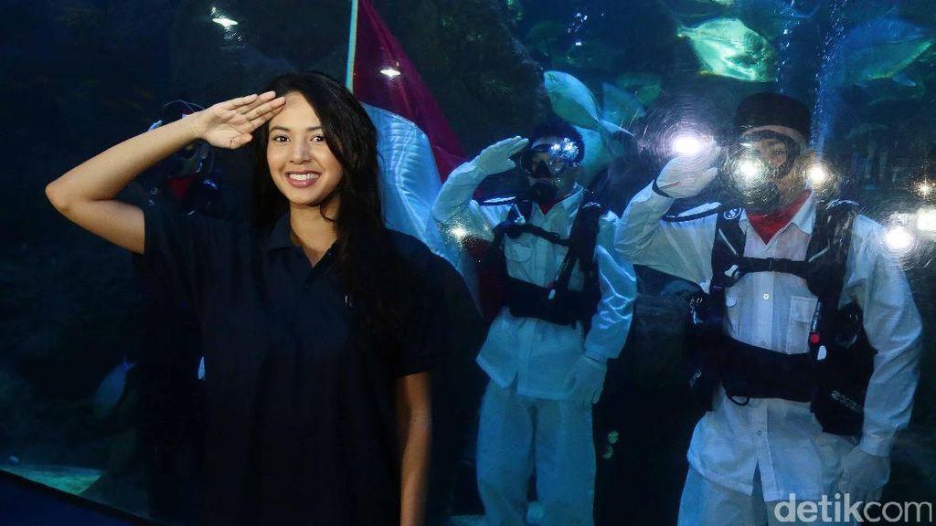 Aurelie Moeremans Jadi Paskibra Underwater, Status Komika Acho Masih Tersangka