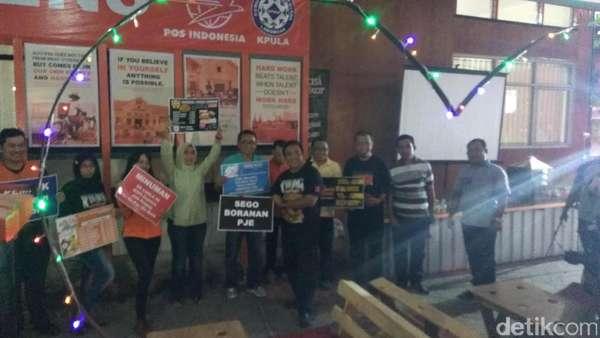 HUT RI, PT Pos Indonesia Gandeng UKM Lamongan