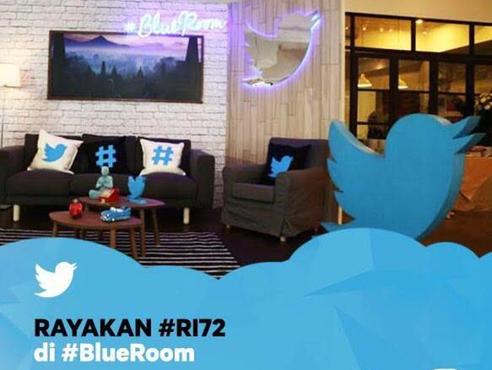 Foto: #BlueRoom Twitter