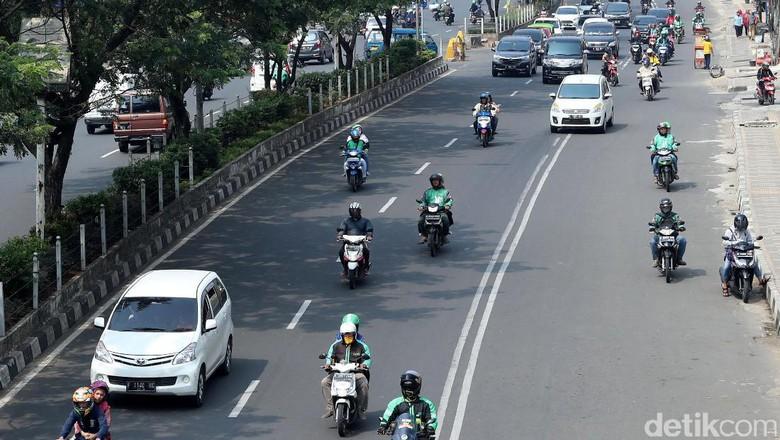 Motor-Angkot Didenda Rp 500 Ribu Bila Tak Lewat Jalur Lambat Margonda