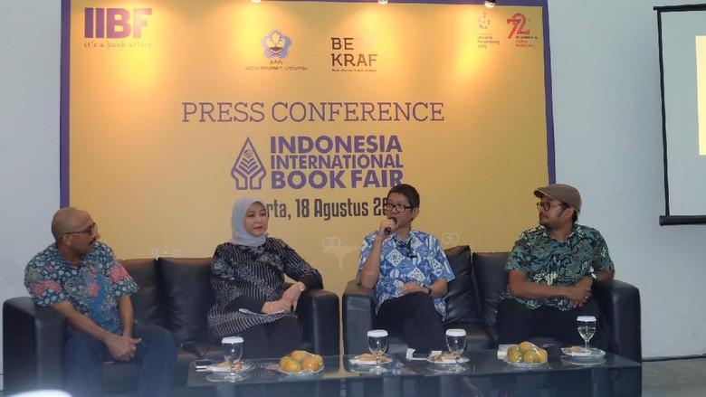 Buku Anak dan Fiksi Paling Banyak Diminati di IIBF 2017