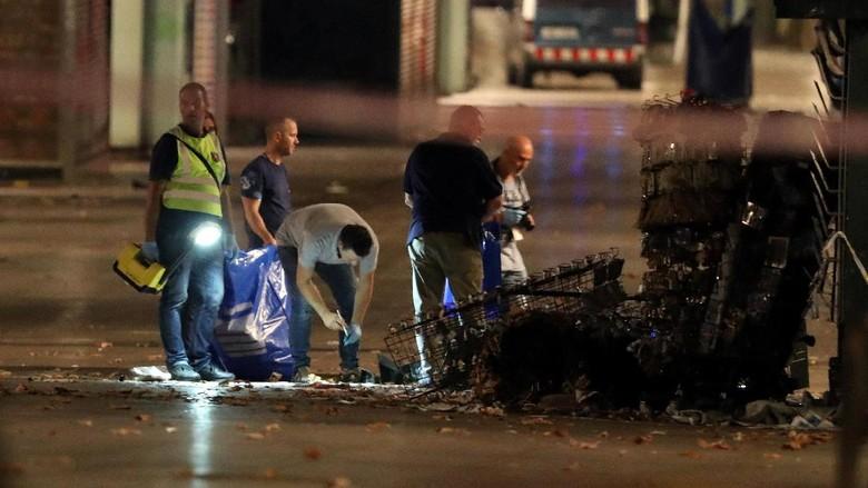 3 Terduga Pelaku Teror Van Barcelona Ditangkap di Prancis