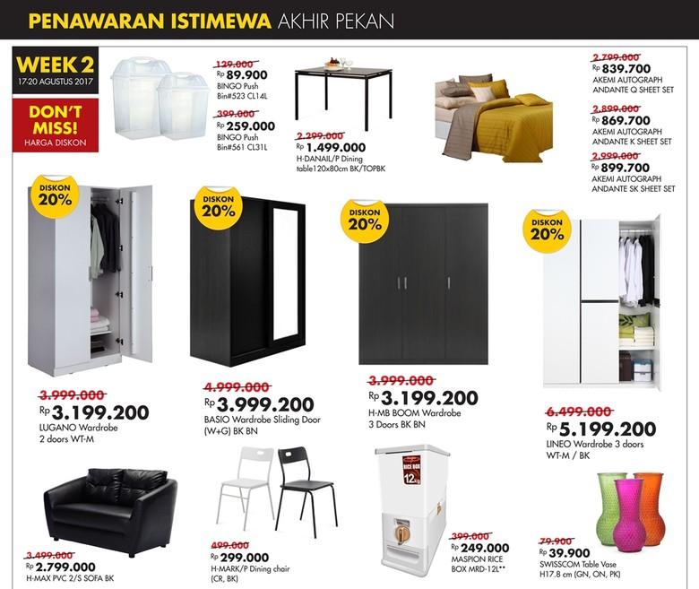 Promo Akhir Pekan Furnitur Index Living Mall di Transmart Carrefour