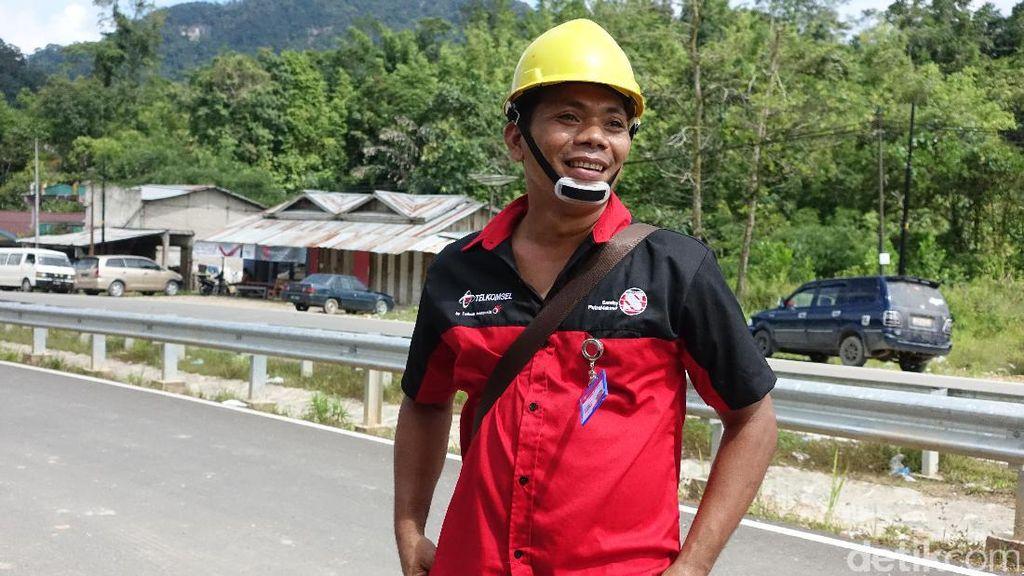 Kisah Heroik Prajurit Sinyal di Perbatasan RI-Malaysia