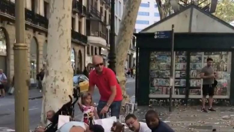 Potret Teror Van di Barcelona yang Tewaskan 13 Korban