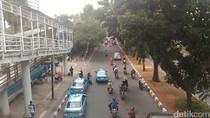 Potret Pemotor di Jl Sudirman yang Bakal Terusir