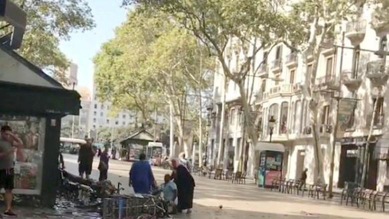 Jadi Lokasi Teror, La Rambla Merupakan Pusat Turis di Barcelona