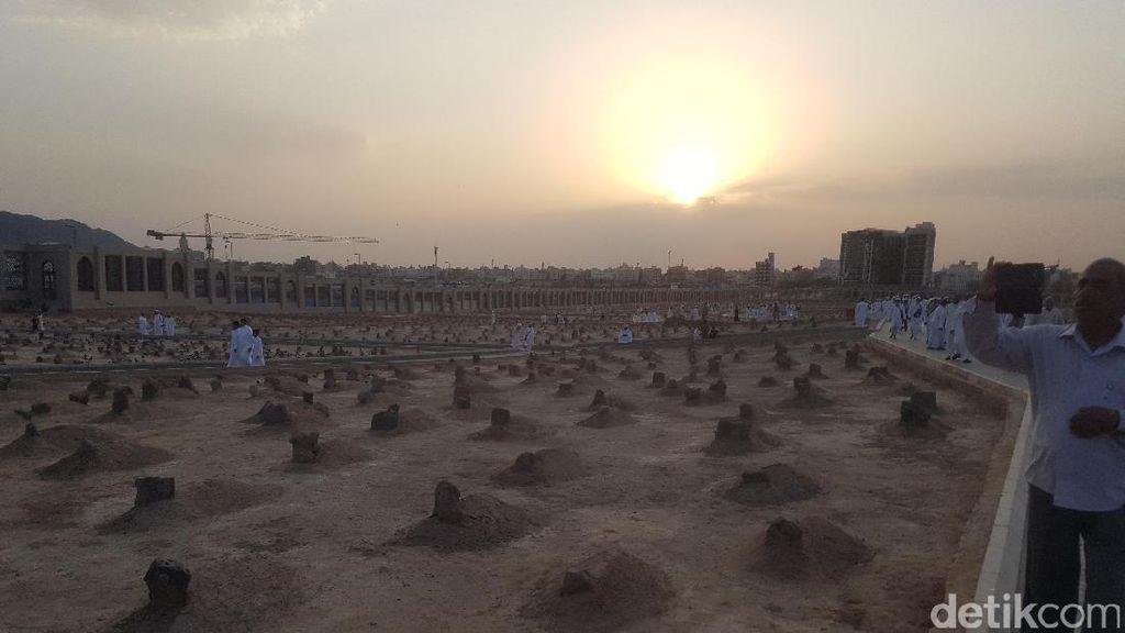 Subhanallah! Beginilah Sunrise Favorit Jemaah Haji