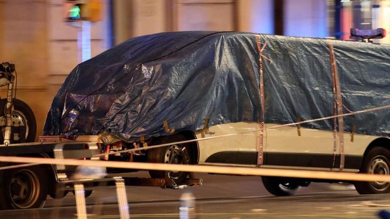 Pelaku Rencanakan Teror Lebih Besar dengan Bom Truk di Barcelona