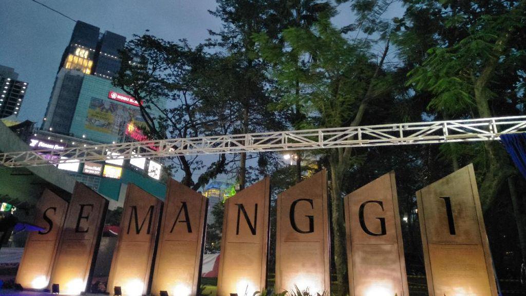 Nama Jokowi Hingga Ahok Diabadikan di Prasasti Simpang Susun Semanggi