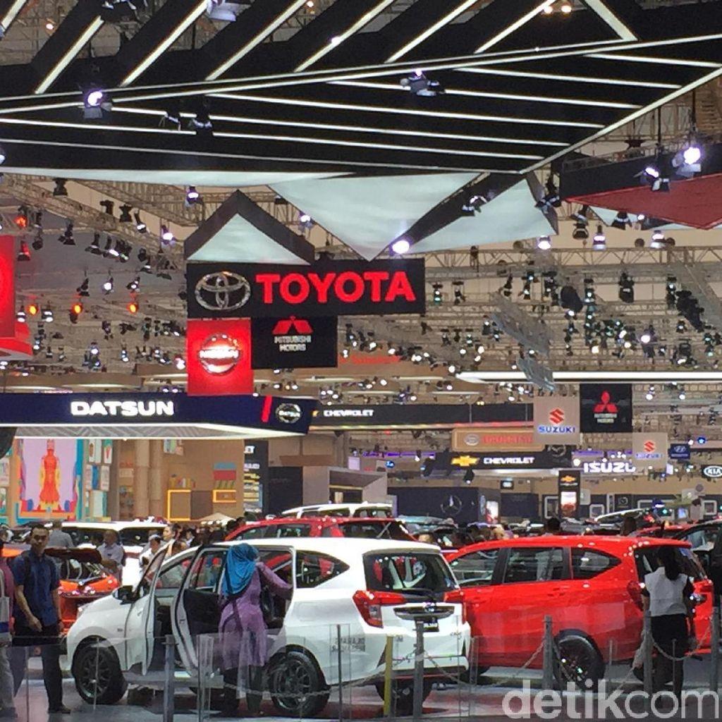 Dari Jutaan Mobil Terjual di RI, 98% Merek Jepang