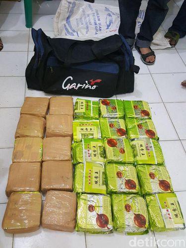 BNN Sita 40 Kg Sabu asal Malaysia dari 5 Bandar di Aceh Utara