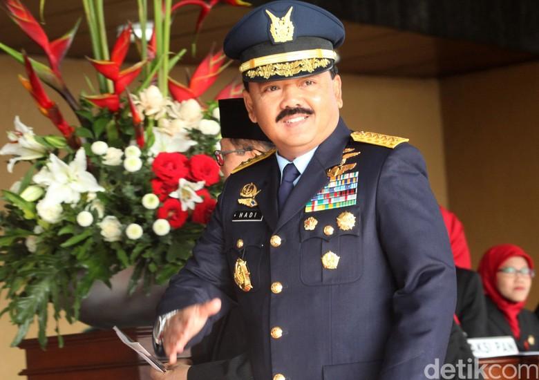 Jadi Calon Tunggal Panglima TNI, Ini Harta Kekayaan Marsekal Hadi