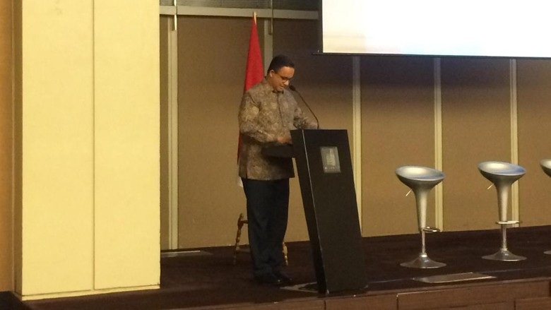 Anies Kembali Dengungkan Pembangunan DKI Dengan Pendekatan Gerakan