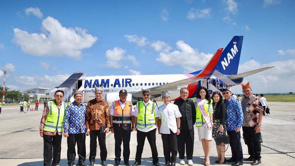 NAM Air Resmi Tambah Frekuensi Terbang Jakarta-Banyuwangi