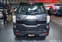 Toyota Rush tanpa 'konde' di GIIAS 2017