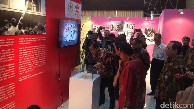 Pameran 'Sukarno: Besar bersama Rakyat' di Kementerian Sekretariat Negara