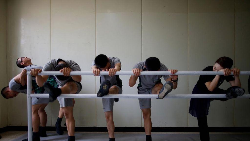 Saat Tentara Korea Selatan Menari Balet