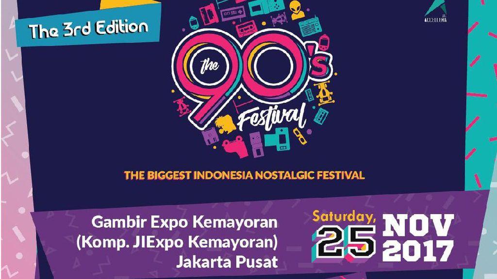Cerita The 90s Festival Satukan Grup yang Telah Lama Vakum