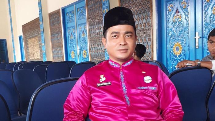Rahmad Hidayat SKM, sang pelopor gerakan anti merokok di dalam rumah di Riau (Foto: Chaidir Anwar Tanjung)