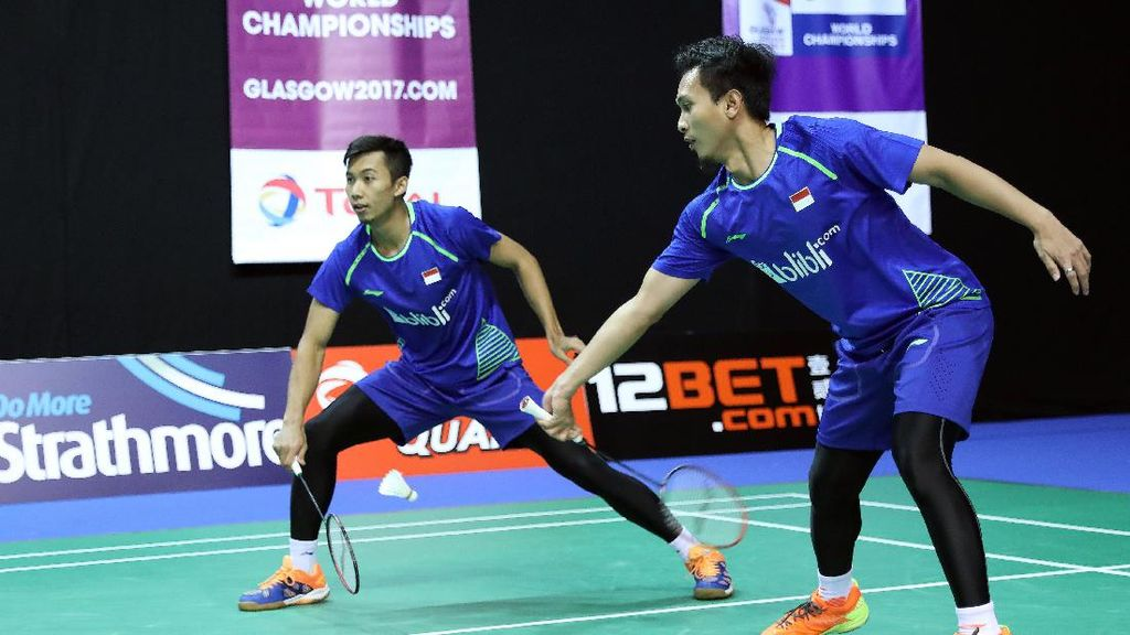 Ahsan/Rian Kandas, All Indonesian Final Batal Tercipta