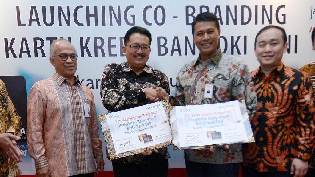 Co-Branding Kartu Kredit, Bank DKI gandeng BNI