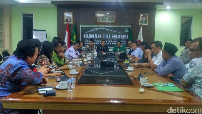 Bertemu GP Ansor, Forum Advokat Minta Dukungan soal Perppu Ormas