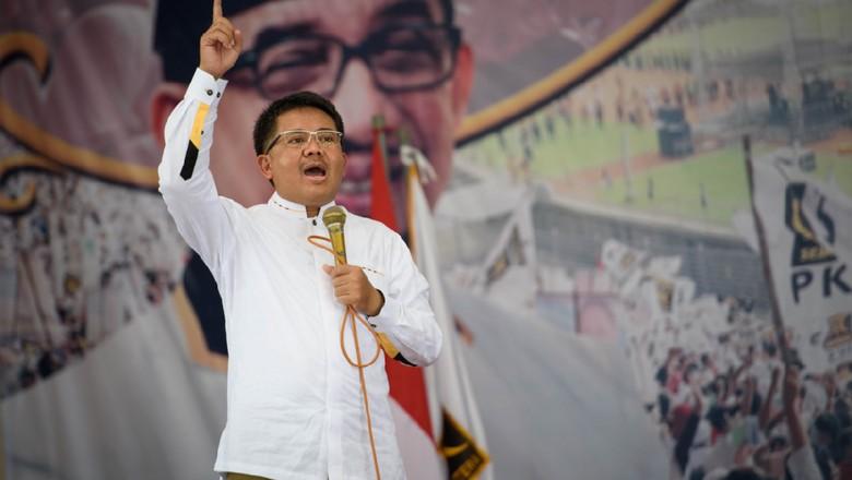 Presiden PKS ke Jemaah Tausiah - Jakarta Presiden PKS Sohibul Iman mengatakan dibukanya Monas untuk kegiatan keagamaan sebagai bentuk pemenuhan janji kampanye Gubernur DKI