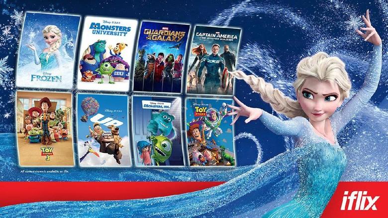 Sejumlah Film Disney dapat Disaksikan di iflix