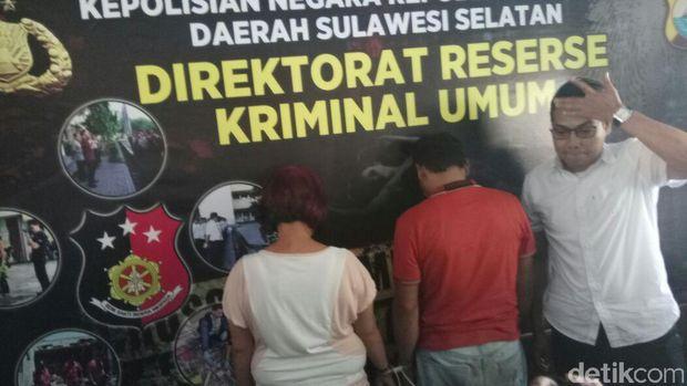 Pasutri pelaku penipuan dengan cara hipnotis di beberapa kota di Indonesia
