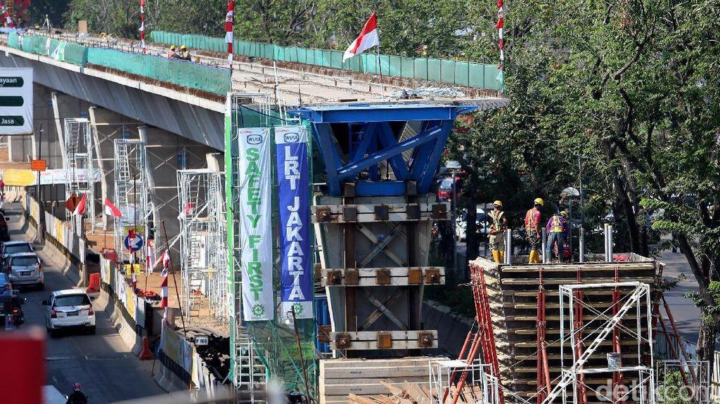 BUMN Korsel Bakal Gelontorkan Rp 6,75 T untuk LRT Jakarta