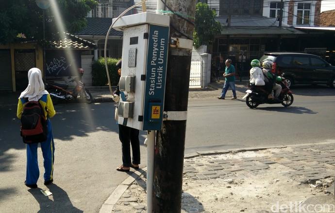 Foto: Ini Lho SPBU Mobil Listrik