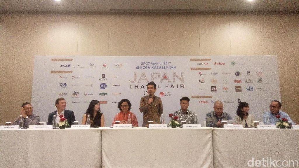 Serbu! Tiket Promo di Japan Travel Fair Mulai dari Rp 3,9 Juta PP