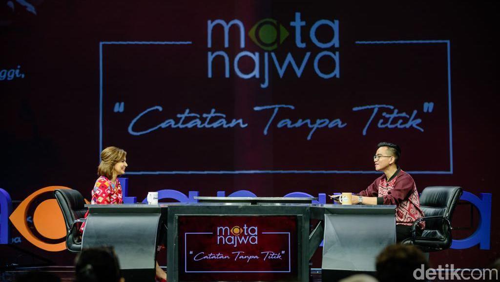 Saat Gibran Rakabuming Jadi Host Mata Najwa Edisi Terakhir