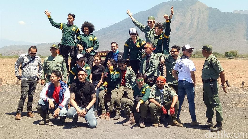 Usai Berkunjung, Omesh Cs Diminta Promosikan Taman Nasional Baluran