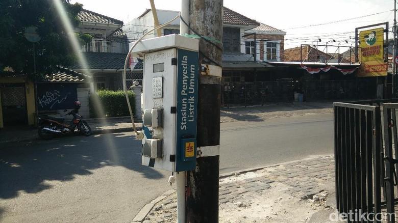 Cikal Bakal SPBU Mobil Listrik