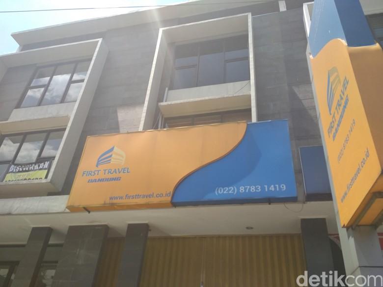 Penampakan Kantor Tiga Lantai First Travel di Bandung