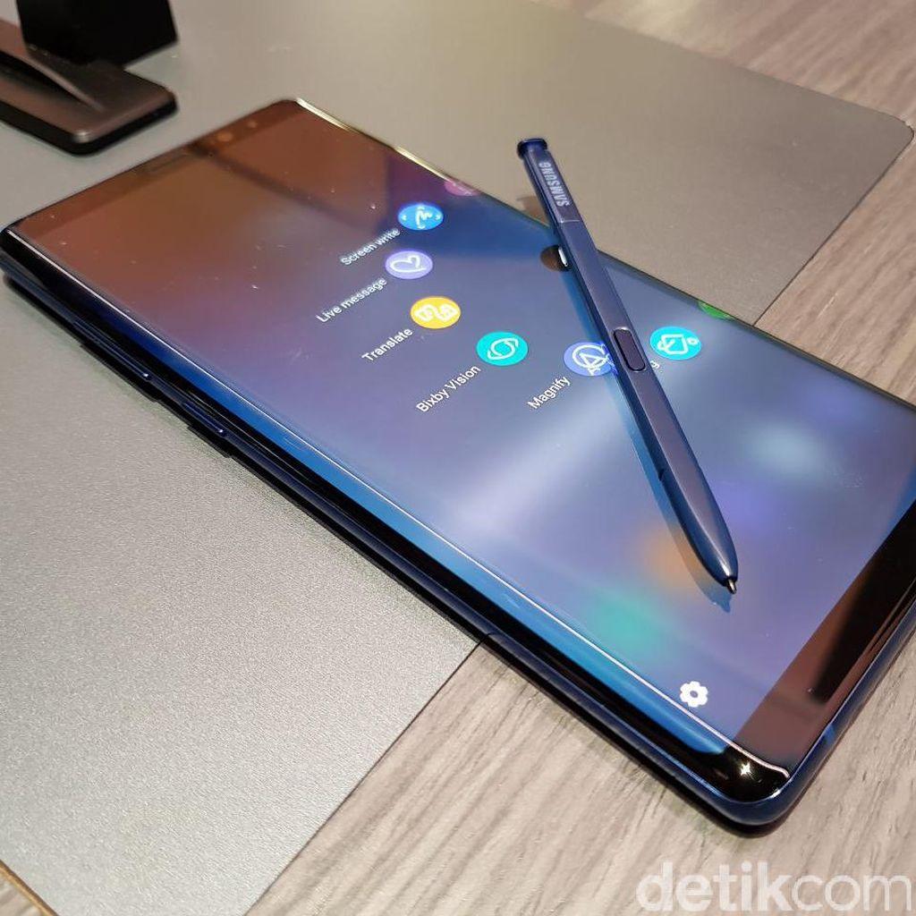 Sensor Sidik Jari Bawah Layar Jadi Dipasang di Note 9?