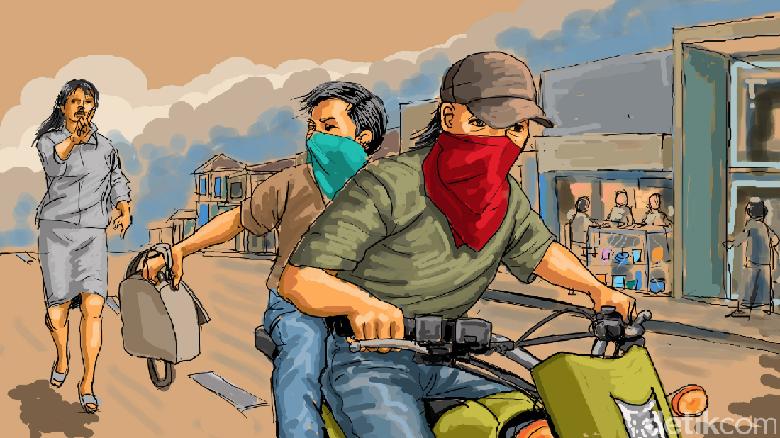 Sekawanan Perampok Bersenjata Api Gasak 3 Kg Emas di Riau