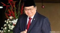 Jadi Ketum Golkar, Airlangga Serahkan Jabatan Menterinya ke Jokowi