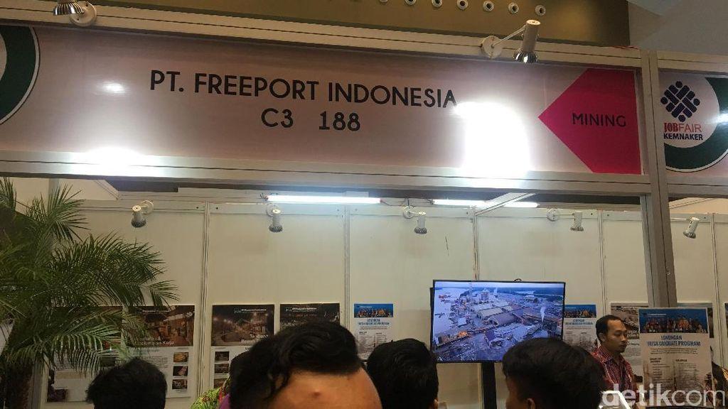 Freeport Buka Lowongan Fresh Graduate, Bisa Dibayar Rp 10 Juta Lebih