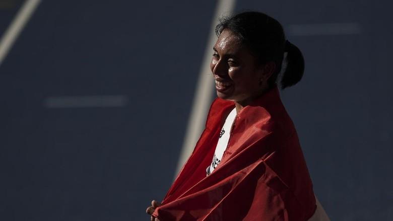 Raih Dua Perak di SEA Games, Begini Komentar Maria Londa