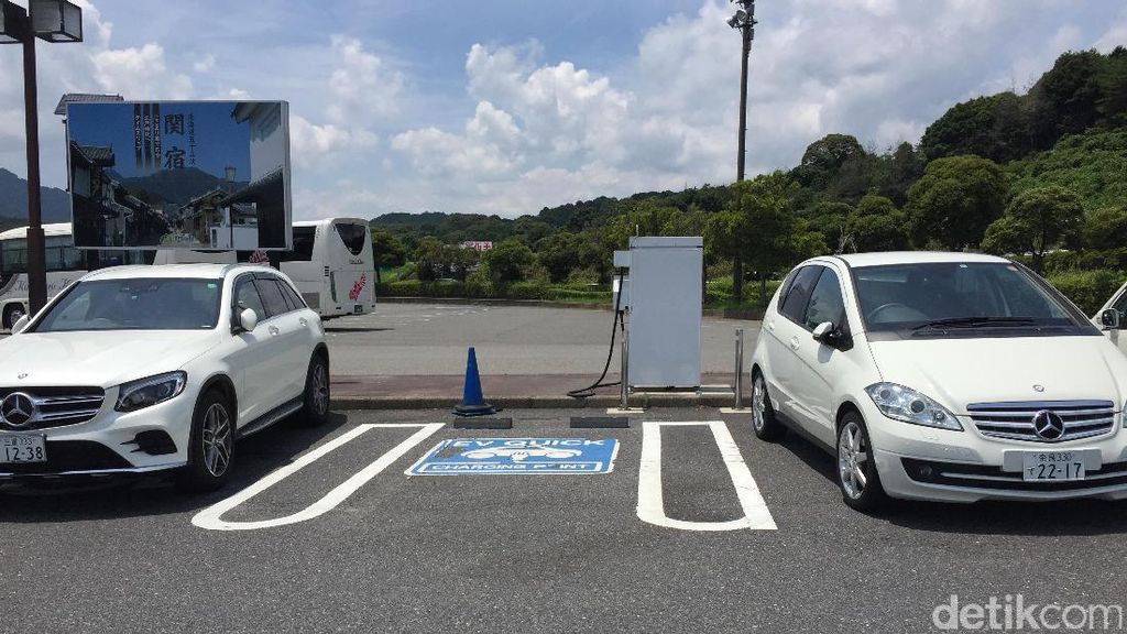 Di Jepang Kini Lebih Banyak SPLU Mobil Listrik daripada SPBU BBM