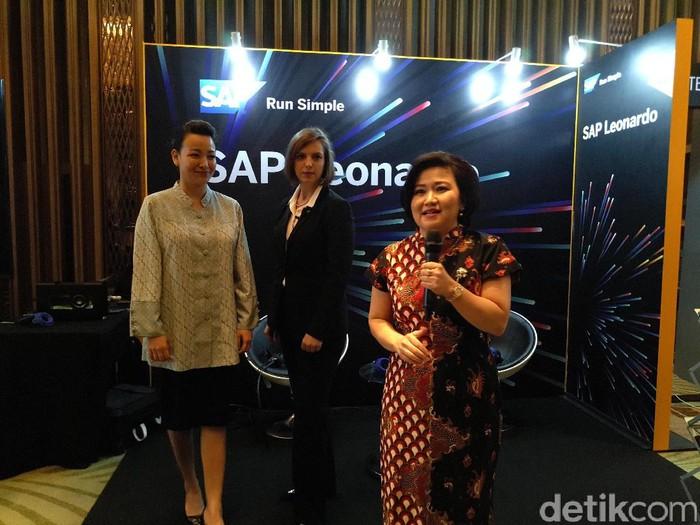 Megawaty Khie, VP SAP SuccessFactors SEA. Foto: yud/detikINET