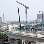 16 Km Jalur Kereta MRT Fase 1 Tersambung Akhir Bulan Ini