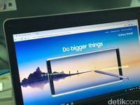 Samsung Mulai Umbar Pemesanan Note 8 di Jalanan Jakarta