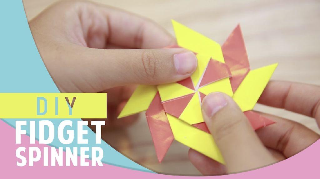 Video: Membuat Fidget Spinner Sendiri