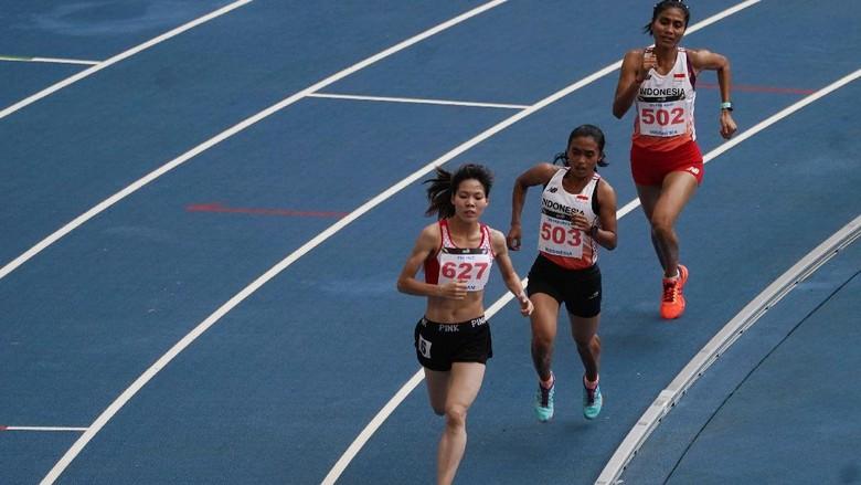 Triyaningsih Dapat Perunggu dari Lari 5.000 Meter